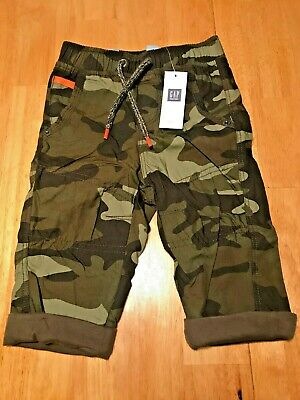 Baby Gap Boys Cargo Camouflage Pants 12-18 months NEW