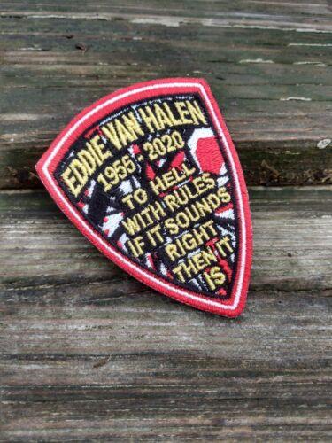 Eddie Van Halen Commemorative Collectible Morale Patch Guitar Hero seriesPatch#6