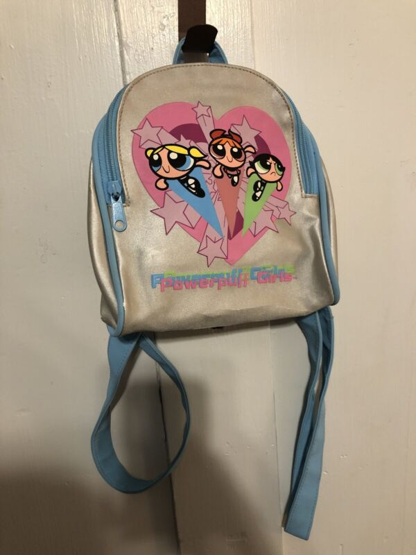 Vintage Powerpuff Girls Mini Backpack Purse