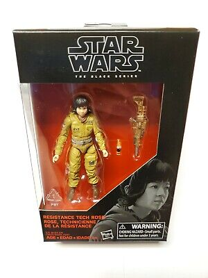 New Mint Star Wars The Black Series Resistance Tech Rose 3.75 in Exclusive