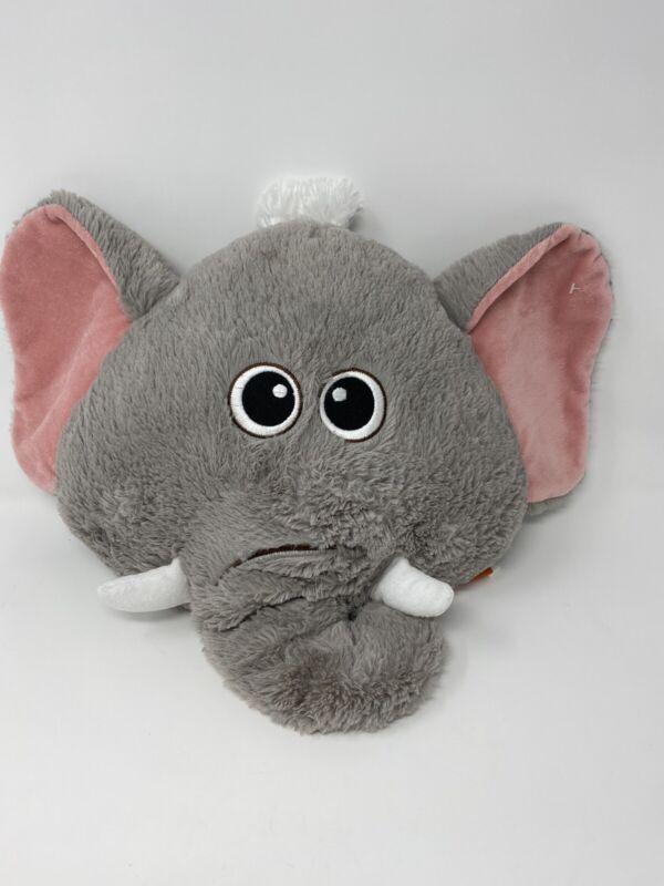 "Adventure Planet Elephant Throw Pillow Room Decor Nursery 21"""