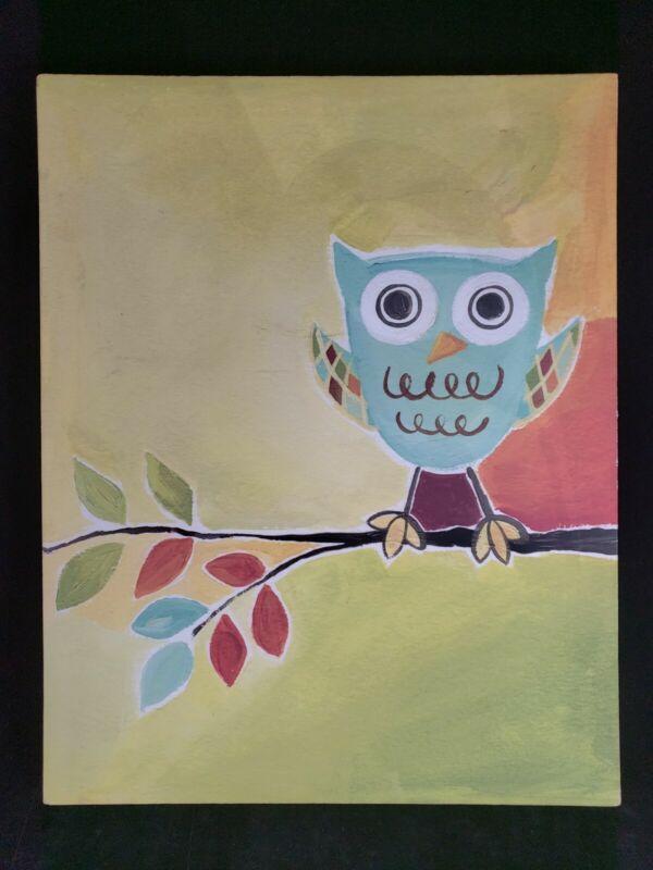 Owl Canvas Print Art