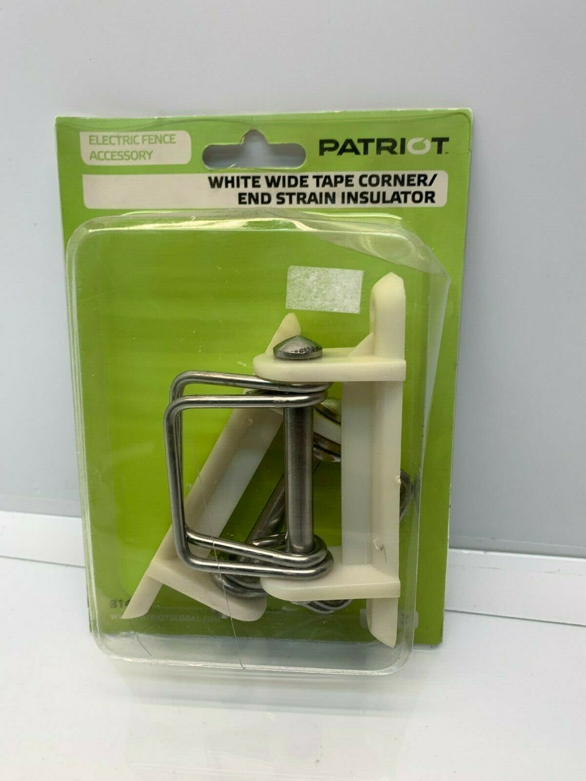 Patriot Wide Tape Corner / End Strain Insulator Electric Fen