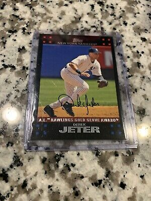 2007 Topps Derek Jeter #301 MLB New York Yankees HOF NM-MT Free Ship Gold Glove