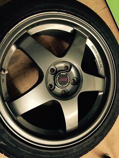 Forged monoblock Jdm Sti wheels  Lobethal Adelaide Hills Preview