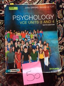Psychology units 3&4 Cranbourne North Casey Area Preview