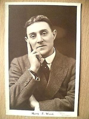 Postcard- Theater Actors MR HARRY F WOOD