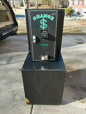 American Changer Bill Changer - Ac2001 - Dual Hopper - Used - Good Condition