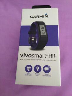 Brand new Garmin Vivosmart HR+ activity tracker