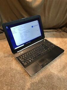 Dell latitude E5520 4gb RAM 250gb HDD