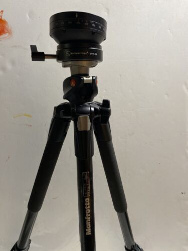 Manfrotto Tripod 190XPROB WITH SUNWAYFOTO DYH-90 FLOATING LARGE FORMAT HEAD - $120.00