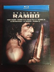 Rambo Trilogy BLU-RAY