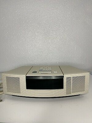 Bose Wave Radio/CD AWRC1P CD Player AM/FM Radio Stereo Alarm Clock Tested