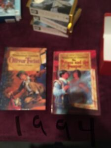 Two illustrated classic books