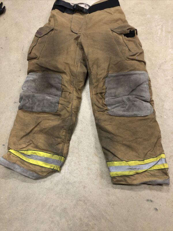 40x36 Globe Gxtreme Firefighter Pants Turnout Bunker Fire Gear 2008 NICE!