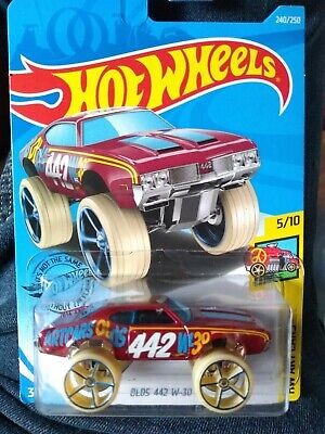 2020 B Hot Wheels Olds 442 W-30 Art Cars Super High New