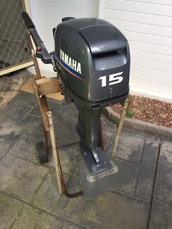 2010 Yamaha 15Hp ( Fast Tail) outboard motor