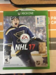 NHL 17 (Xbox One) no scratches, in case $60 OBO