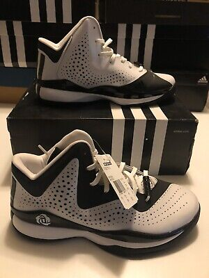BRAND NEW Adidas  D ROSE 773 III Men's Basketball Shoes SIZE 7.5 Wht/Blk C75720