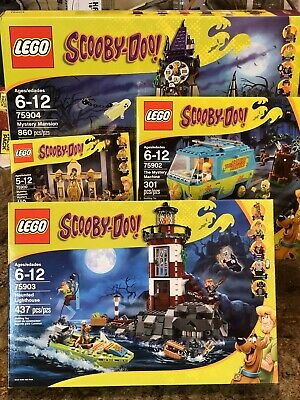 Lot 4 Lego Scooby-Doo 75900,75904,75903,75902 Retired New US Seller
