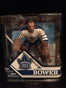 Toronto Maple Leafs action figure. Johnny Bower