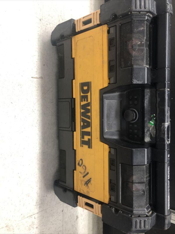 "DEWALT DWST08810 14-1/2"" Portable Toughsystem Music Bluetooth/battery"