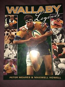 Wallaby legends book Runcorn Brisbane South West Preview