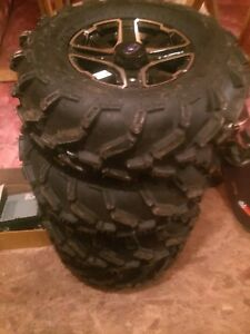 Brand new Polaris tires and rims never mounted