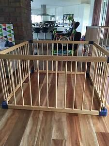 Jolly Kidz Wooden Playpen Berwick Casey Area Preview