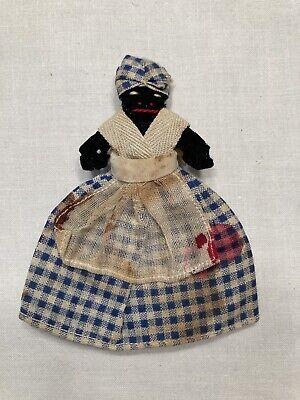 African Americana folk doll Maid