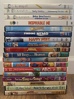 DISNEY DREAMWORKS PIXAR KIDS DVD Lot Collection - Pick and Choose DVDS !!