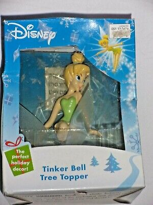 2005 Tinkerbell Disney Christmas Holiday Tree Topper by Gemmy