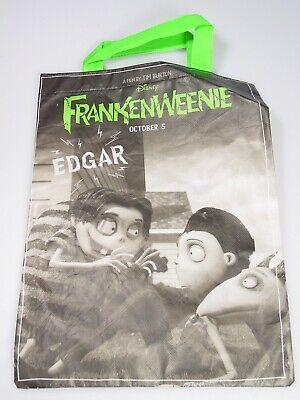Subway Halloween Bags (FRANKENWEENIE Edgar tote Halloween trick or treat bag Tim Burton subway)