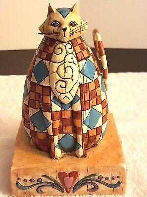 Jim Shore Abigail 114419T Folk Art Figurine Heartwood Creek 2003 Design Ensco
