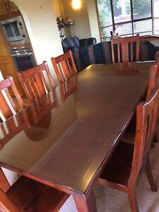 9 Piece Dining table and chairs Wishart Brisbane South East Preview