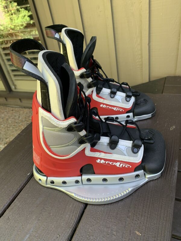 HYPERLITE Spin Wakeboard Binding/Boots Mini for Water Sport Sz Small SUPER NICE