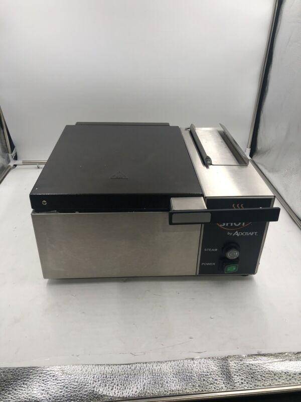 Adcraft CTS-1800W 1/2 Size Pan Countertop Fresh Shot Steamer