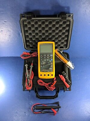 Fluke 789 Processmeter Excellent Screen Protector Hard Case Accessories