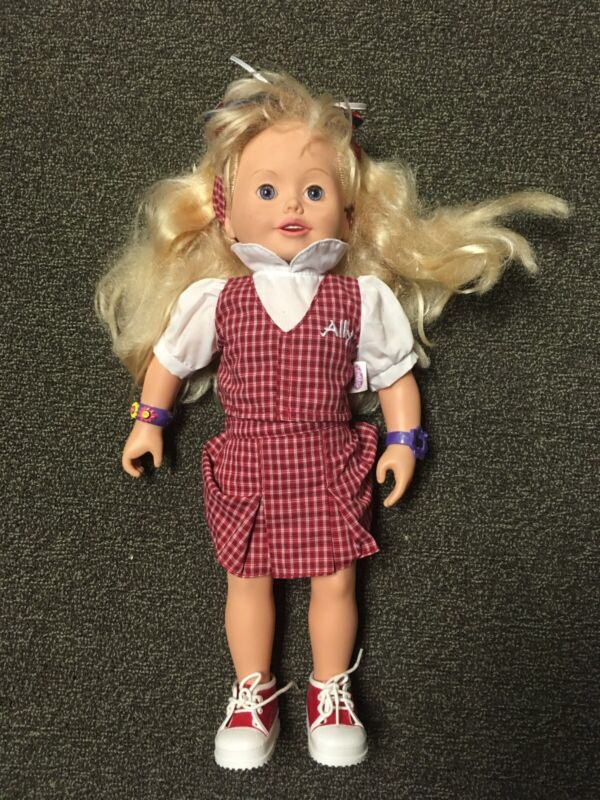 Amazing Ally Doll w/lots of Accessories Book Cards Interactive Doll Talking