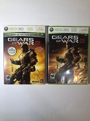Gears of War 2 -- Game of the Year Edition Microsoft Xbox 360 Complete