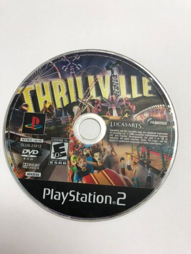 Thrillville Disc Only Sony PlayStation 2, 2006  - $4.49