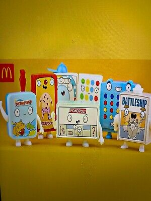 McDonalds 2021 Hasbro Gaming Happy Meal toys   Full set of 8