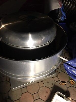 Loren Cook Ventilation Exhaust Fan Roof Top 165rh6b
