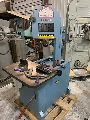 Roll-in Band Saw - Model Ef1459 The Original Vertical Band Saw 2014 Model