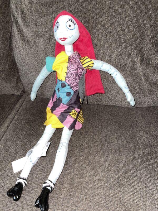 "Disney Parks Nightmare Before Christmas SALLY Plush Doll 21"" NWT"