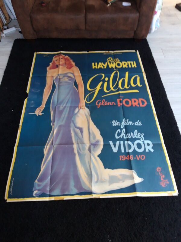 Gilda Rita Hayworth 4x6 movie poster