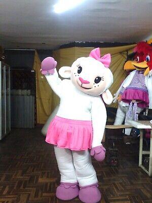 Lambie Doc McStuffins Mascot Costume Lamb Sheep Party Adult Halloween Cosplay (Lambie Doc Mcstuffins Kostüme)