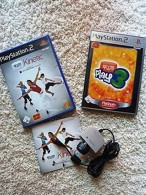 Kinetic für Play Station 2 mit USB Kamera