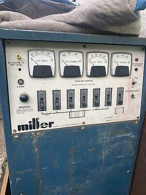 Miller Welding 800 Amp Load Bank Acdc Welder Output Test 115v