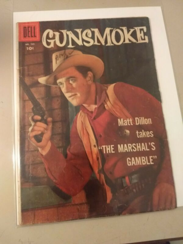 Gunsmoke #769 1957 Dell Comics